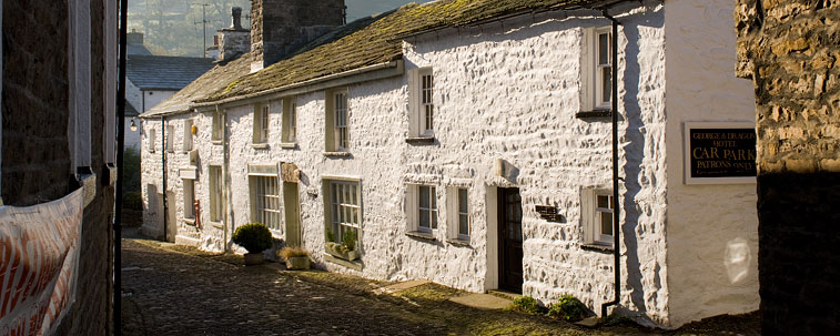 Cobbled Street, Dent Village, Dentdale